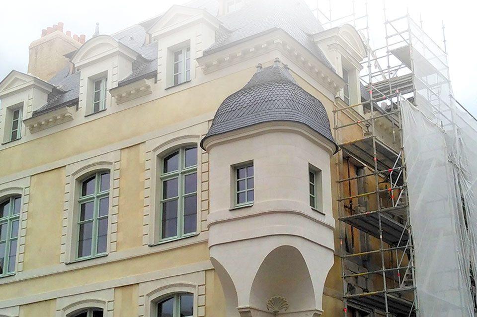 Rénovation batiment ancien