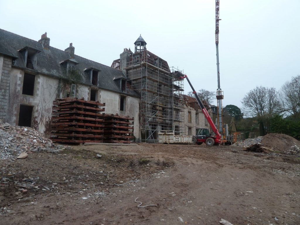 Rénovation du Château de Kergonano à Baden