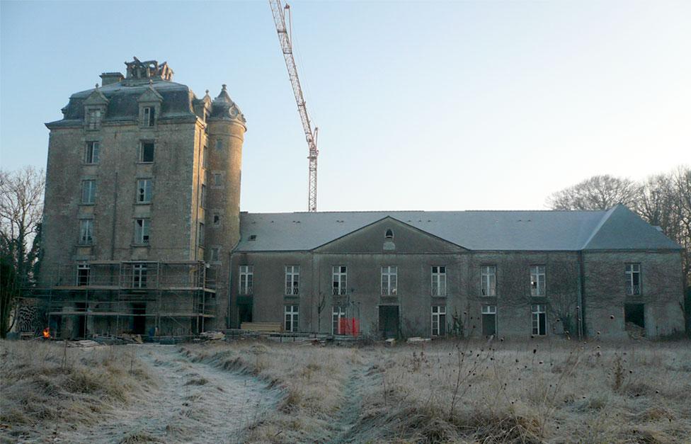 Rénovation chateau avant travaux